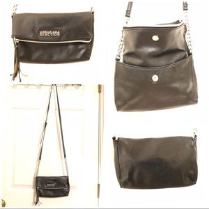 Black Reaction Kenneth Cole crossbody